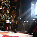 Sun Rays In Orthodox Church by Emanuel Tanjala