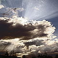 Sunlight And Stormy Skies by Mick Anderson