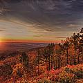 Sunrise 2-talimena Scenic Drive Arkansas by Douglas Barnard