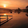 Sunrise At Knapps Loch by Grant Glendinning