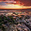 Sunset At Birling Gap by Mark Leader