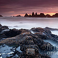 Sunset At Seal Rock by Keith Kapple