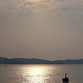 Sunset At The Beach by Nawarat Namphon
