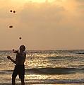 Sunset Juggling by Stav Stavit Zagron