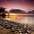 Sunset On The Rocks by Cale Best