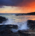 Sunset Storm Passing by Mike  Dawson