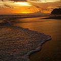 Sunset Surf Playa Hermosa Costa Rica by Michelle Wiarda