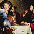 Supper At Emmaus by Bernardo Strozzi