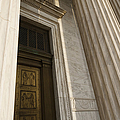 Supreme Court Entrance by Roberto Westbrook