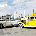Swap Meet Plymouth And Chevy  by Steve McKinzie