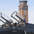 T-38 Talon Pilots Make Their Final by Stocktrek Images