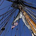 Tall Ship Rigging by Garry Gay
