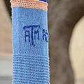 Tamu Astronomy Crocheted Lamppost by Nikki Marie Smith