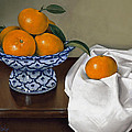 Star Apples And Ginger Jar Painting By Samere Tansley