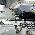 Tank Driver Of A Belgian Leopard 1a5 by Luc De Jaeger