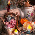 Tea Party - I Would Love To Have Some Tea  by Mike Savad