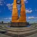 Teardrop Memorial by Susan Candelario