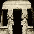 Temple Of Hathor by Photo Researchers, Inc.