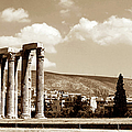 Temple of Zeus Print by John Rizzuto
