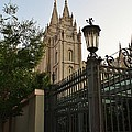 Temple Square Grounds by Bruce Bley