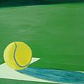 Tennis Reflections Print by Ken Pursley