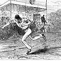 Tennis: Wimbledon, 1880 by Granger