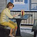 Texting At Breakfast by Robert Rohrich