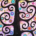 Textured Tree by Karla Gerard