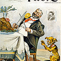 Thanksgiving, Puck Magazine Cover by Everett