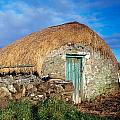 Thatched Shed, St Johns Point, Co Print by The Irish Image Collection