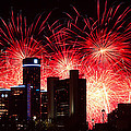 The 54th Annual Target Fireworks In Detroit Michigan - Version 2 by Gordon Dean II