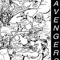 The Advengers by Big Mike Roate