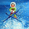 The Aerial Skier - 11 by Hanne Lore Koehler