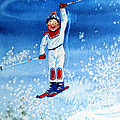 The Aerial Skier 15 by Hanne Lore Koehler