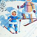 The Aerial Skier - 6 by Hanne Lore Koehler