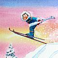 The Aerial Skier - 7 by Hanne Lore Koehler