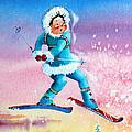 The Aerial Skier - 8 by Hanne Lore Koehler