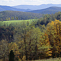 The Allegheny Front, North Fork by Raymond Gehman
