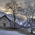 The Alps In Winter by Joana Kruse
