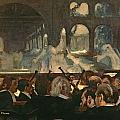 The ballet scene from Meyerbeer's opera Robert le Diable Print by Edgar Degas