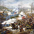 The Battle Of Pea Ridge, by Granger