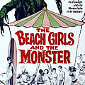 The Beach Girls And The Monster by Everett