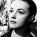 The Bed, Jeanne Moreau, 1954 by Everett