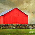 The Big Red Barn by Darren Fisher