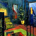 The Blue Room by Mona Edulesco