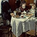 The Breakfast by Claude Monet