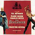 The Buccaneer, Charlton Heston, Yul by Everett