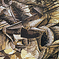 The Charge of the Lancers Print by Umberto Boccioni