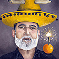 The Competitive Sombrero Couple 2 by Leah Saulnier The Painting Maniac