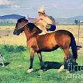 The Cowboy by Odon Czintos